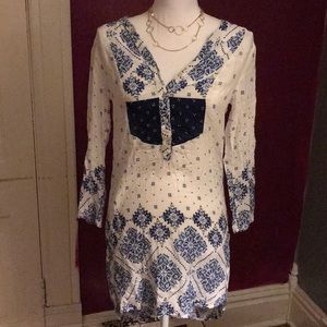 H&M label of graded goods boho dress